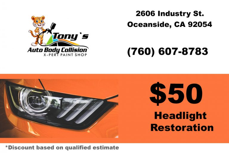 headlight restoration coupon